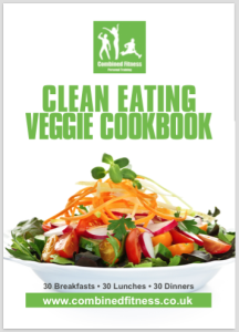 Clean Eating Veggie Cookbook 2d cover boarder